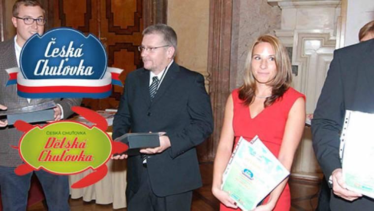 Ocenění Česká a Dětská chuťovka máme už doma