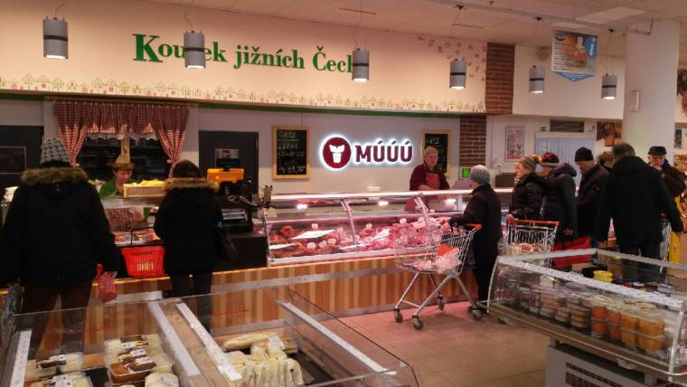 Úsek masa MÚÚÚ v OC Doubravka Plzeň – otevřeno!!!