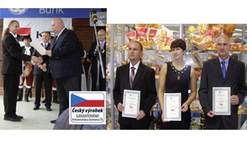 11 výrobků je držitelem certifikátu Český výrobek garantováno PKČR