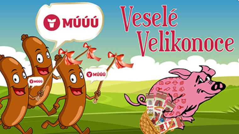 Veselé Velikonoce s produkty MÚÚÚ