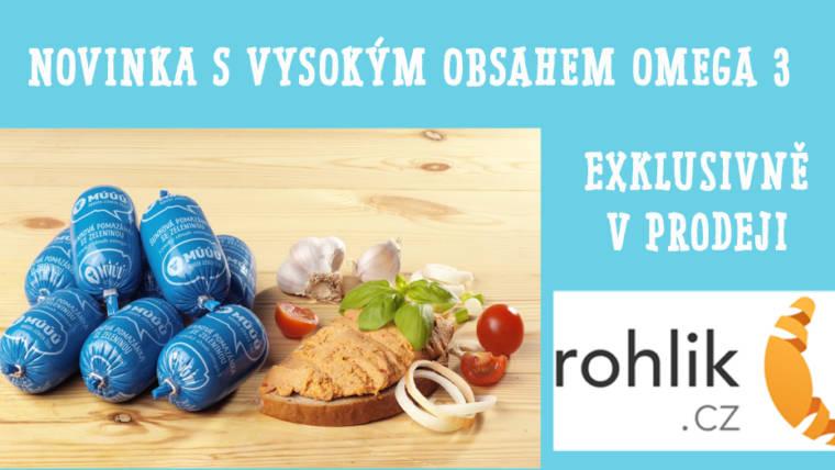 MÚÚÚ Šunková pomazánka se zeleninou – exklusivně jen v prodeji Rohlik.cz :-)